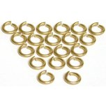 20 Gold Filled Open Jump Rings 17 Gauge