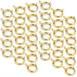 36 Pocket Watch Parts Fobs Connectors Gold Plated 12mm