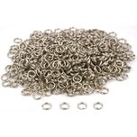700 Split Rings Nickel Lure Parts Charm Bracelet 6mm