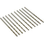 High Speed Steel Drill Bits #50 10Pcs