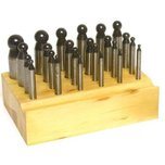 Dapping Punches Steel 24Pcs