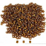Dark Topaz Matsuno Seed Beads Beading Stringing Jewelry Brown 1000Pcs