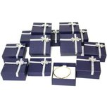 12 Bowtie Bangle Bracelet & Pocket Watch Display Boxes