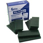 File A Wax Slices Green Assorted 1/2lb.