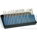 20 Diamond Burs Lapidary Rock Grinding Tools