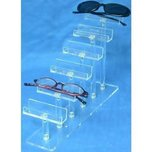 6 Tier Eyeglass Display Case Stand Fixture