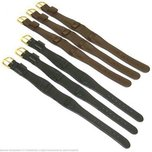 Wide Leather Cuff Wrist Watch Leather Bands 6