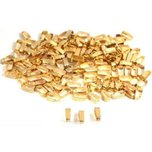 150 Bails Gold Plated Connectors Jewelry Chain Parts 6 x2mm