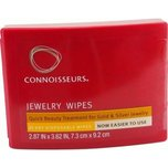 Connoisseurs Jewelry Wipes 25 Wipes