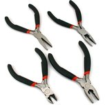 4Pc Verious Sizes Mini Pliers Set Jewelers Beading Wire Wrapping Tool