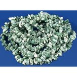 "Agate Green Chip Beads 34"" Strand"