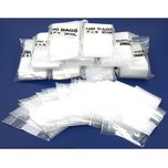 "1000 Zipper Block Bag Resealable Plastic Baggies 2"" x 3"""
