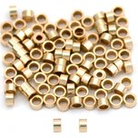 Crimp Beads Gold Filled 2mm 100Pcs