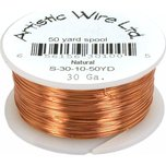 Beading Wire Copper 30g