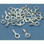 Crimp Cord End Sterling Silver 6mm 25Pcs