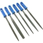 8 Pcs 6 Needle Files Jewelers Watchmaker Metal Filing Tools