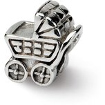 SimStars Reflections Baby Carriage Bead