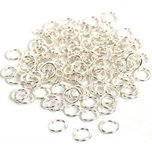100 Jump Ring Sterling Silver O Ring Parts 20 Gauge FindingKing