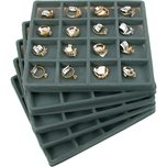 16 Compartment Display Tray Inserts 7 5/8""