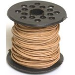 Natural Round Leather Bead Stringing 1MM Cord 75 ft.