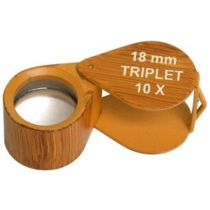 10x Round Triplet Loupe 18mm