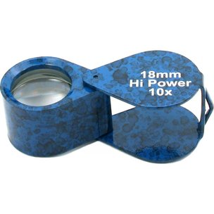 10X Eye Loupe Blue