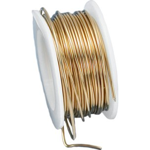 Artistic Wire Spool Gold Color 20 Gauge 5.4M