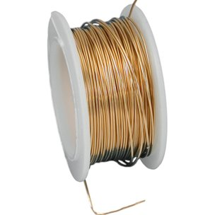 Artistic Wire Spool Gold Color 24 Gauge 9.1M