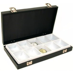 Findingking 10 Slot Pocket Watch Jewelry Tray Display