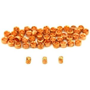 Crimp Beads Copper Plated 2mm 50Pcs