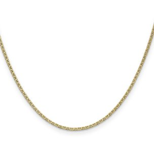 14K Gold 1.5mm Anchor Link Chain