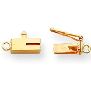 14K Gold Barrel Clasp (7.60mm to 7.60mm)