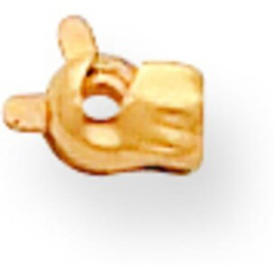 14K Gold Pin Catch