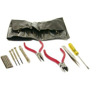 9pc Watch & Jewelry Tool Kit for Repair FindingKing